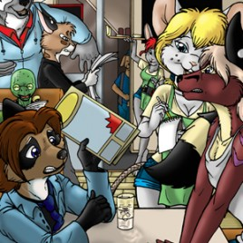 Ringtail Cafe Issue #1 (Heroics & Coffee)