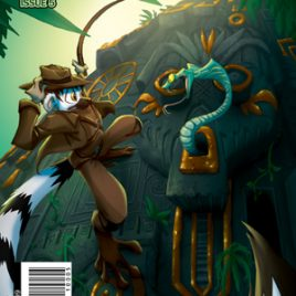 Ringtail Cafe Issue #5 (Jungle Love)