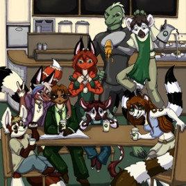 Ringtail Cafe Volume #1 (Collected Issues #1-5)