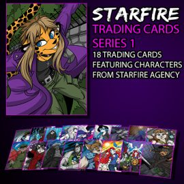 Starfire Agency Trading Cards