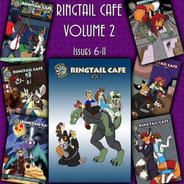 Ringtail Cafe #11 and Volume 2 Trade Coming Soon