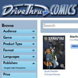 Starfire Agency #1 at DriveThru Comics!