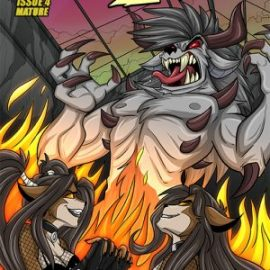Hellkats #4 is available now!