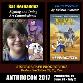 Visit us at AnthroCon in Pittsburgh June 29-July 2!